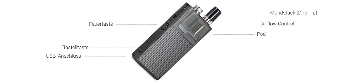Lost Vape Original Plus DNA E-Zigaretten Set