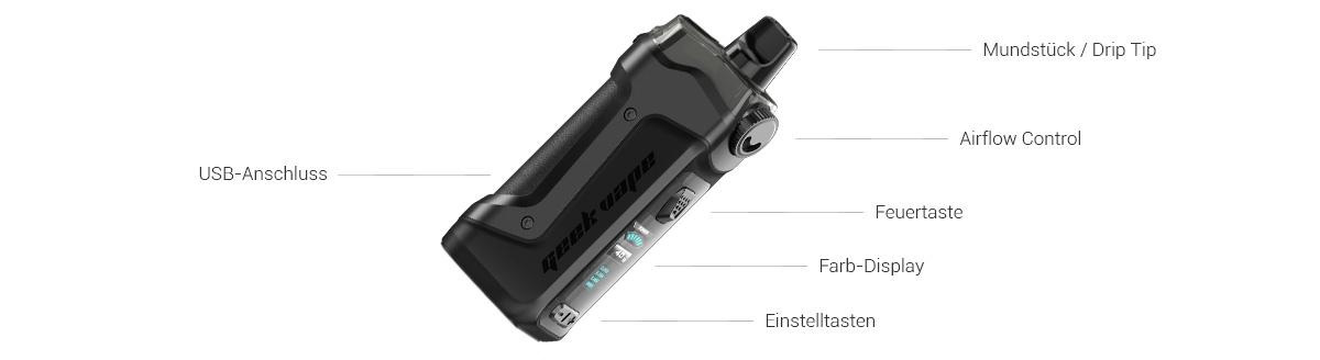 Aegis Boost Plus E-Zigarette