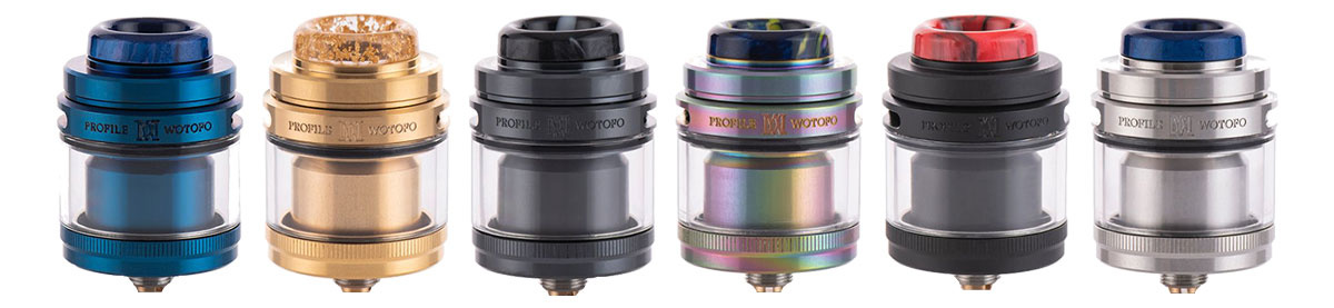Wotofo Profile M RTA Clearomizer Set